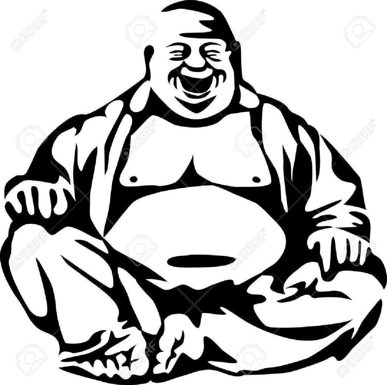 bouddha sourire bouddha riant