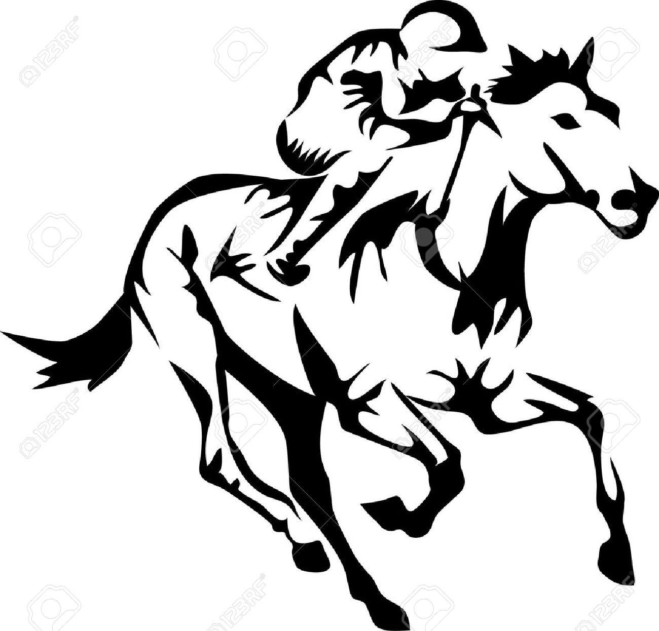 racing horse - 28879475