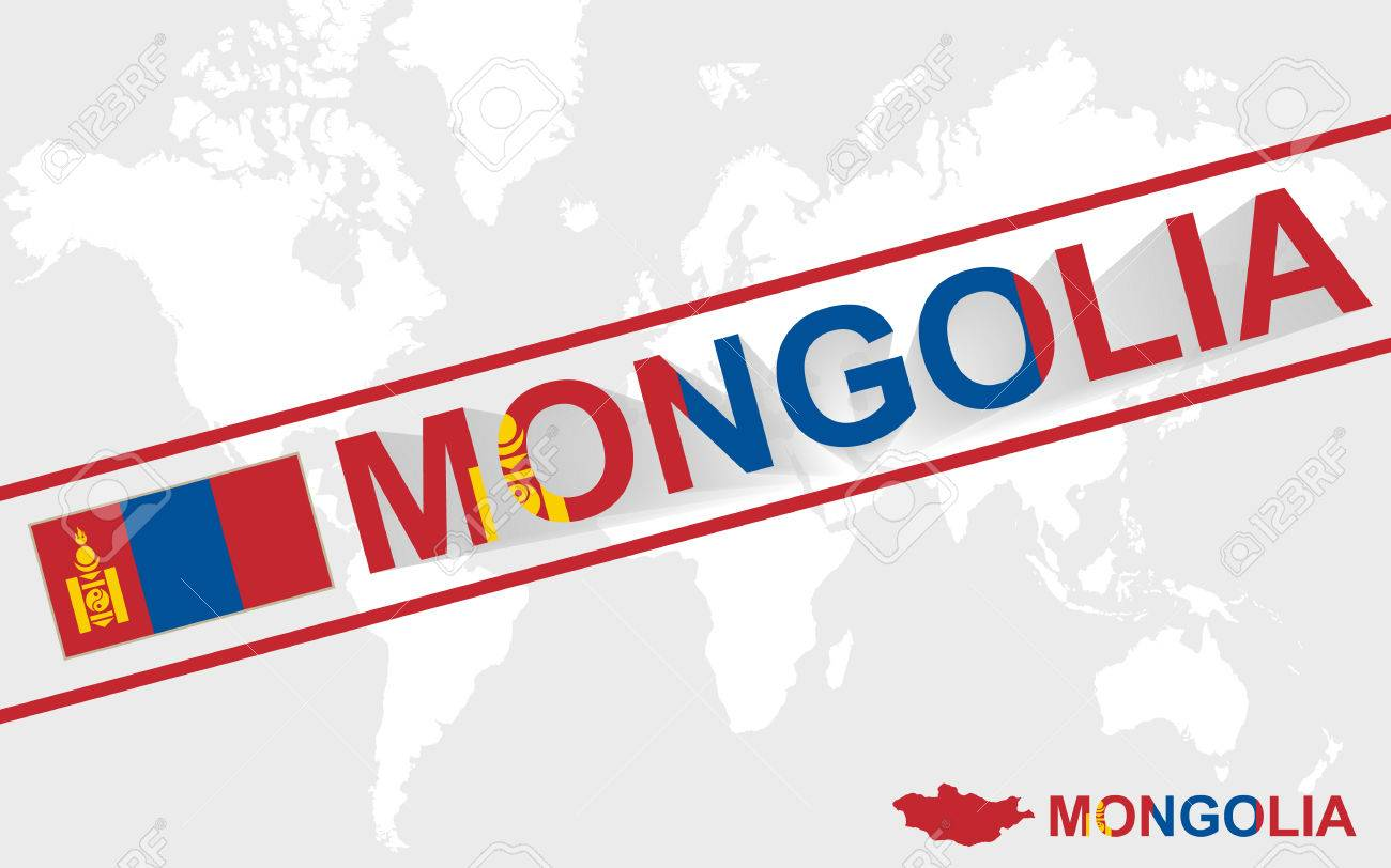 Mongolia map flag and text illustration on world map royalty free mongolia map flag and text illustration on world map stock vector 43472803 gumiabroncs Image collections