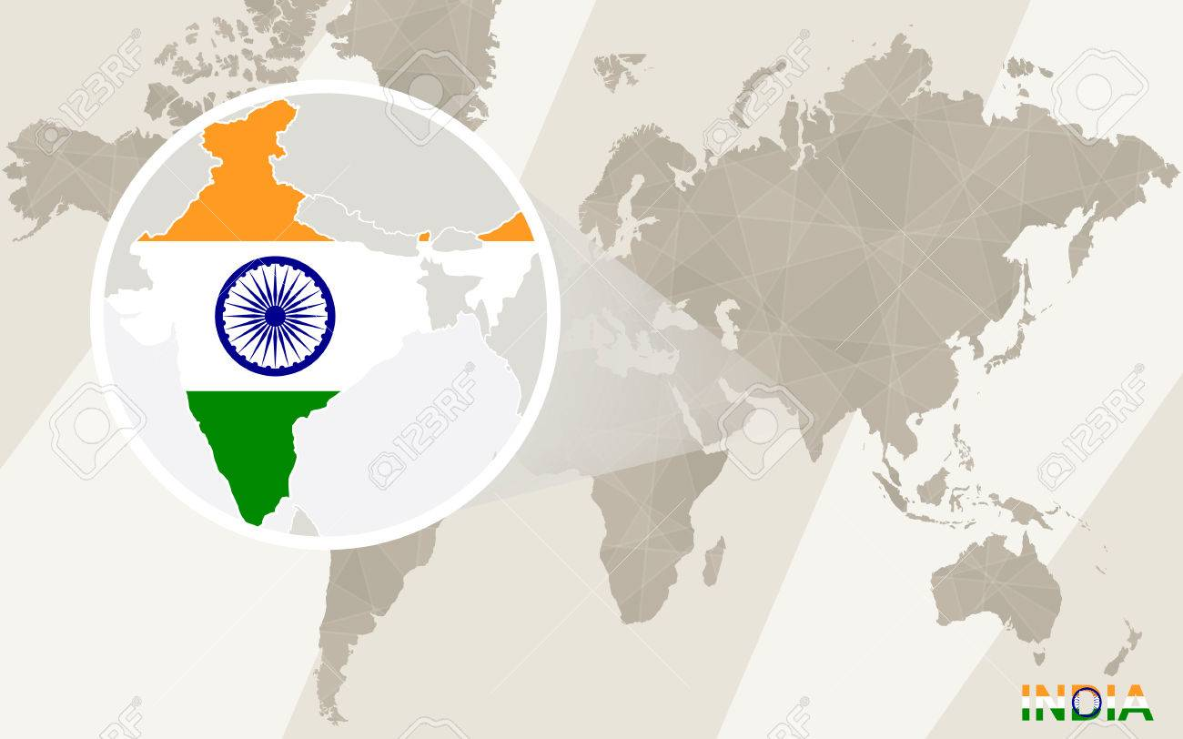 Countries of the world map 2017 uptodate zoomable map of the zoom on india map and flag world map royalty free cliparts world map zoomable gumiabroncs Gallery