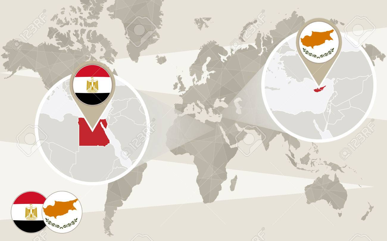 World map zoom on egypt cyprus hijack egypt map with flag world map zoom on egypt cyprus hijack egypt map with flag cyprus gumiabroncs Image collections