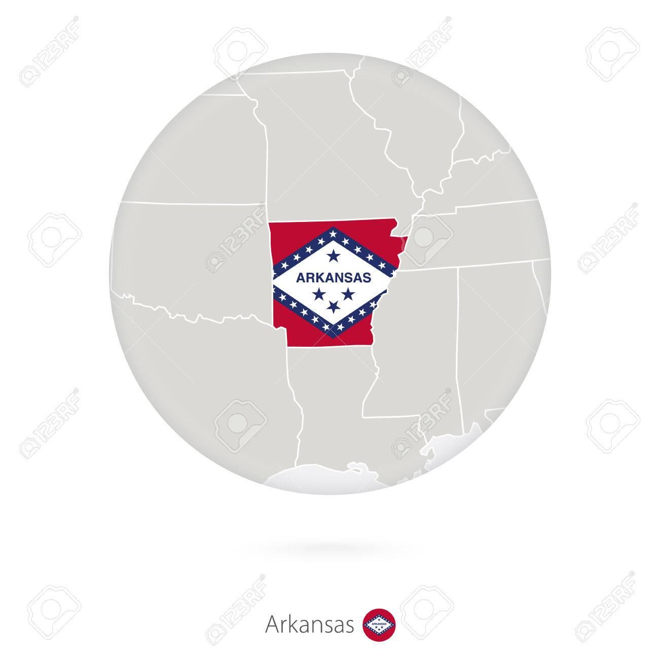 Arkansas Us Map - Arkansas on the us map