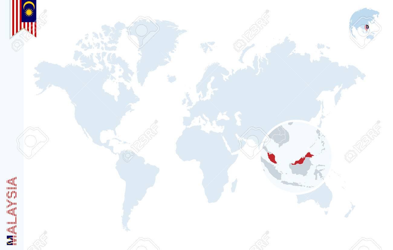 malaisie carte du monde