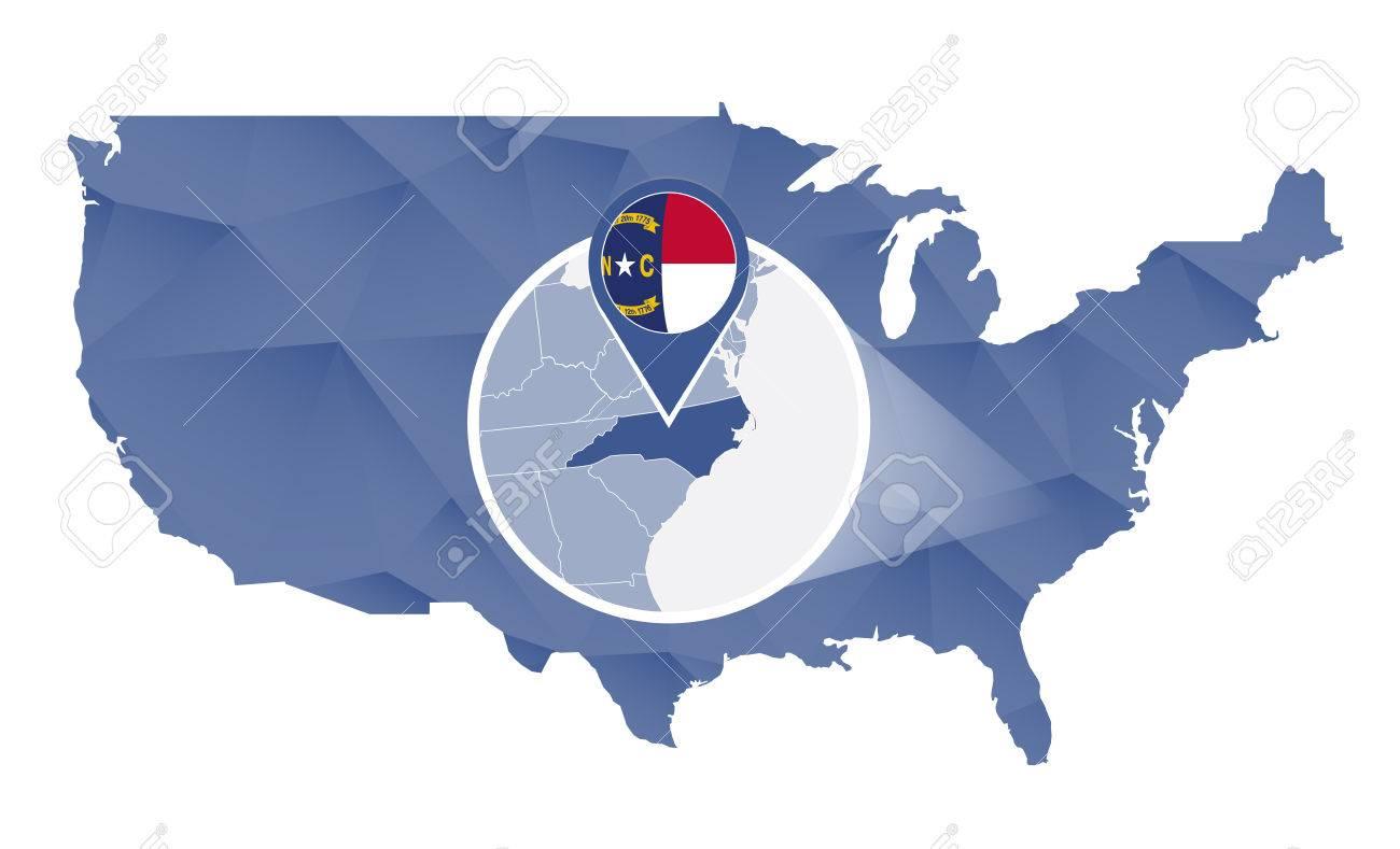 North Carolina State Maps USA Maps Of North Carolina NC Major - North carolina usa map