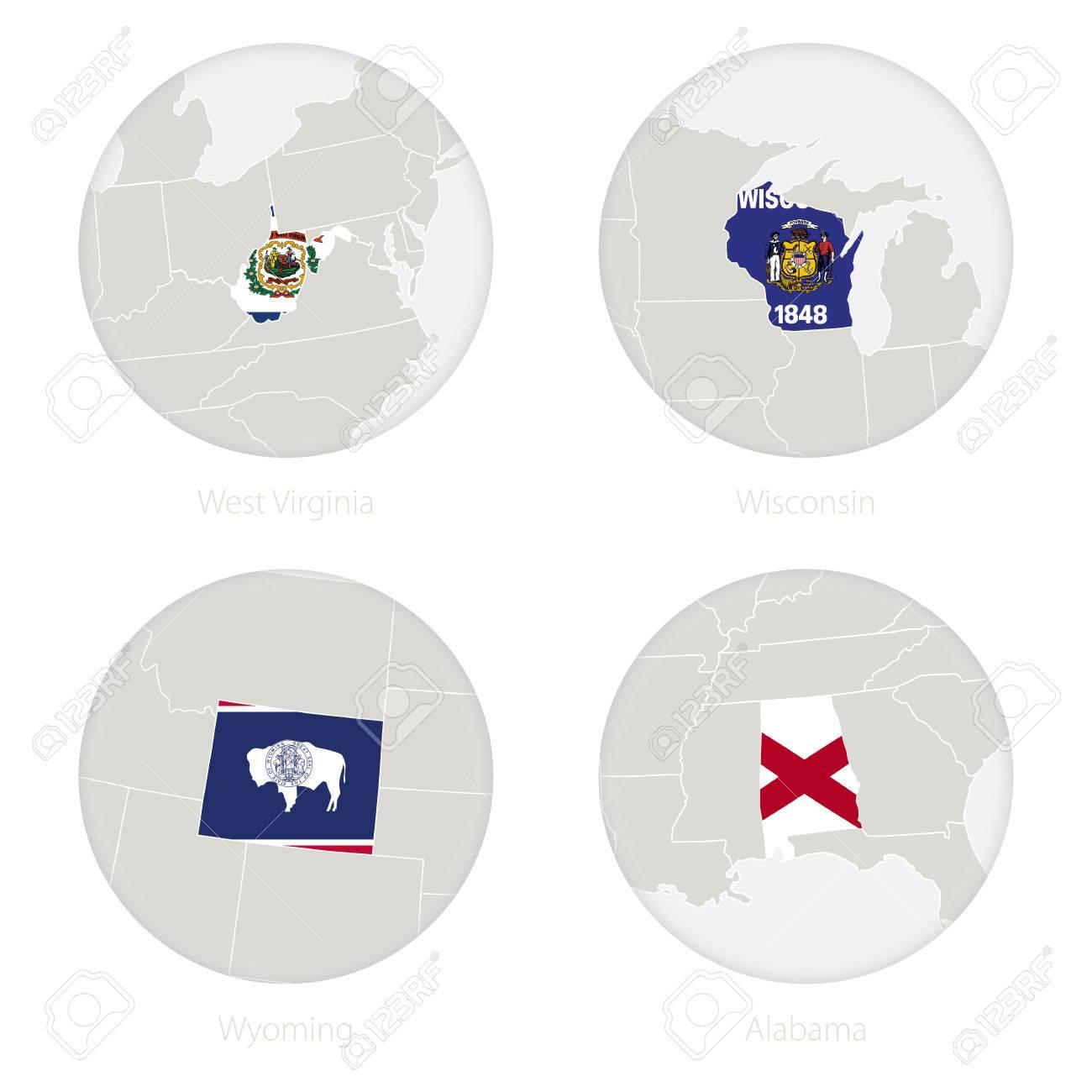 Us Map Wyoming - Wyoming in us map