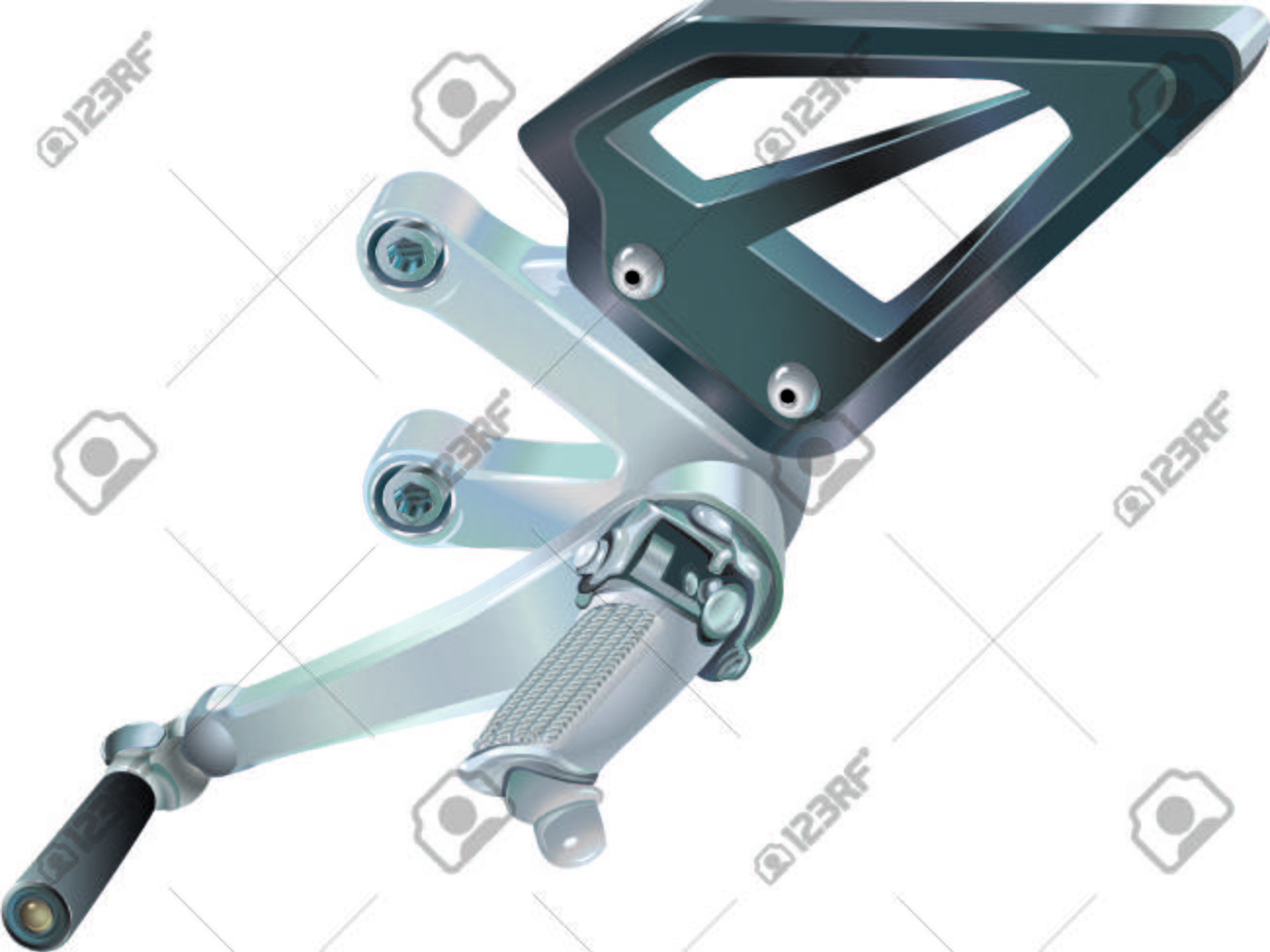 Motorcycle Gear Shifter Pedal Stock Photo Picture And Royalty Free