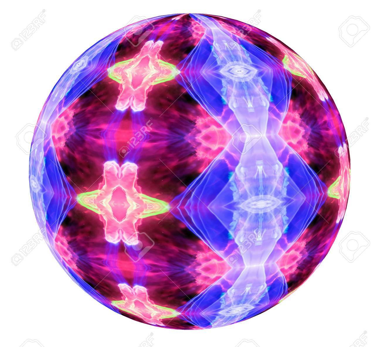 An Abstract View Of A Plasma Ball From Tesla Lamp Toy Image Stock Photo    62548384