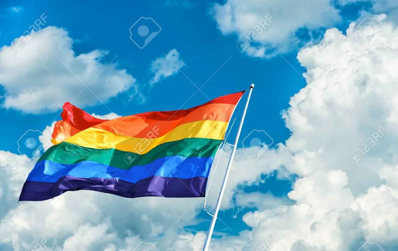 Rainbow flag symbol of tolerance and acceptance stock photo rainbow flag symbol of tolerance and acceptance stock photo 69323990 biocorpaavc Image collections