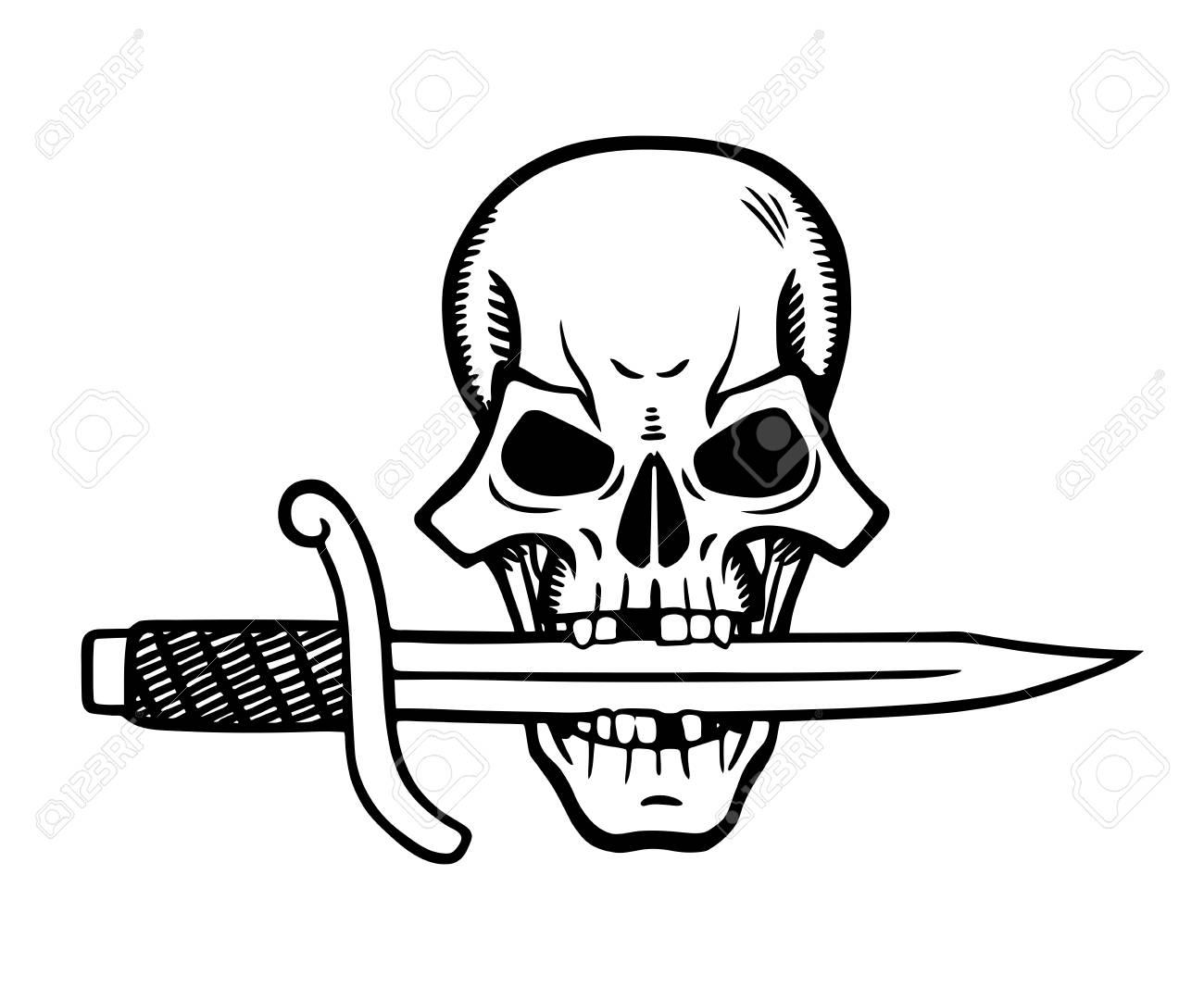 Immagini Di Teschio Pirati questa è l'illustrazione di teschio pirata
