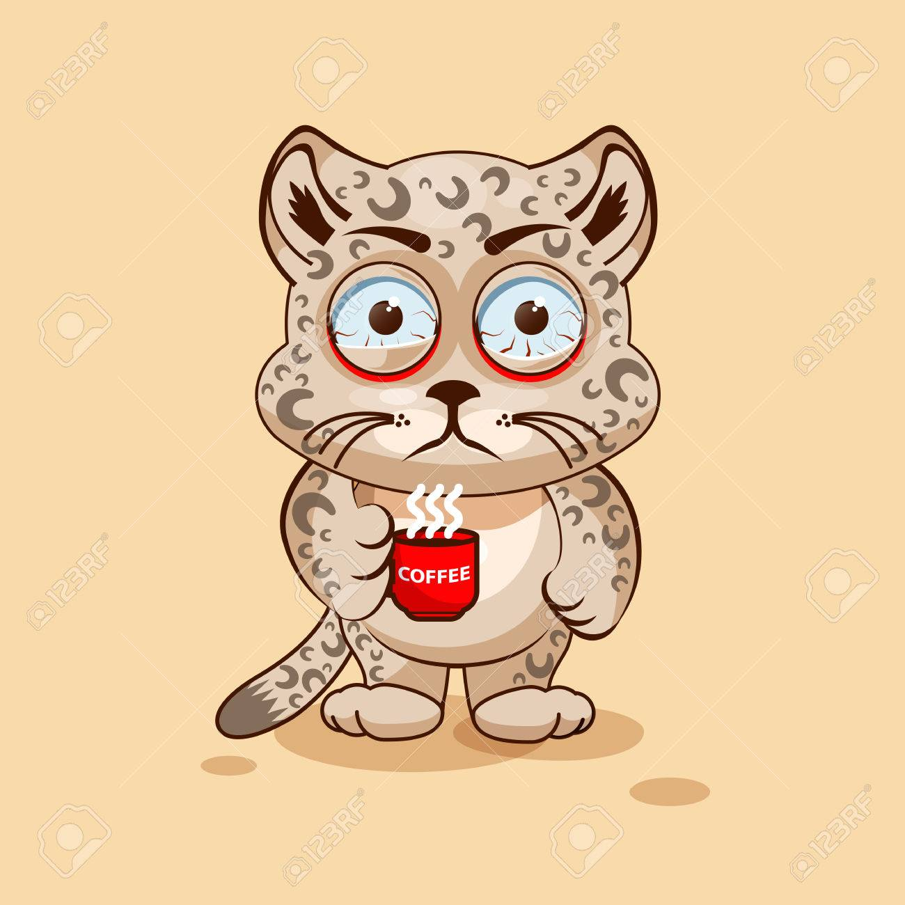Vector De La Ilustración Emoji Personaje De Dibujos Animados ...