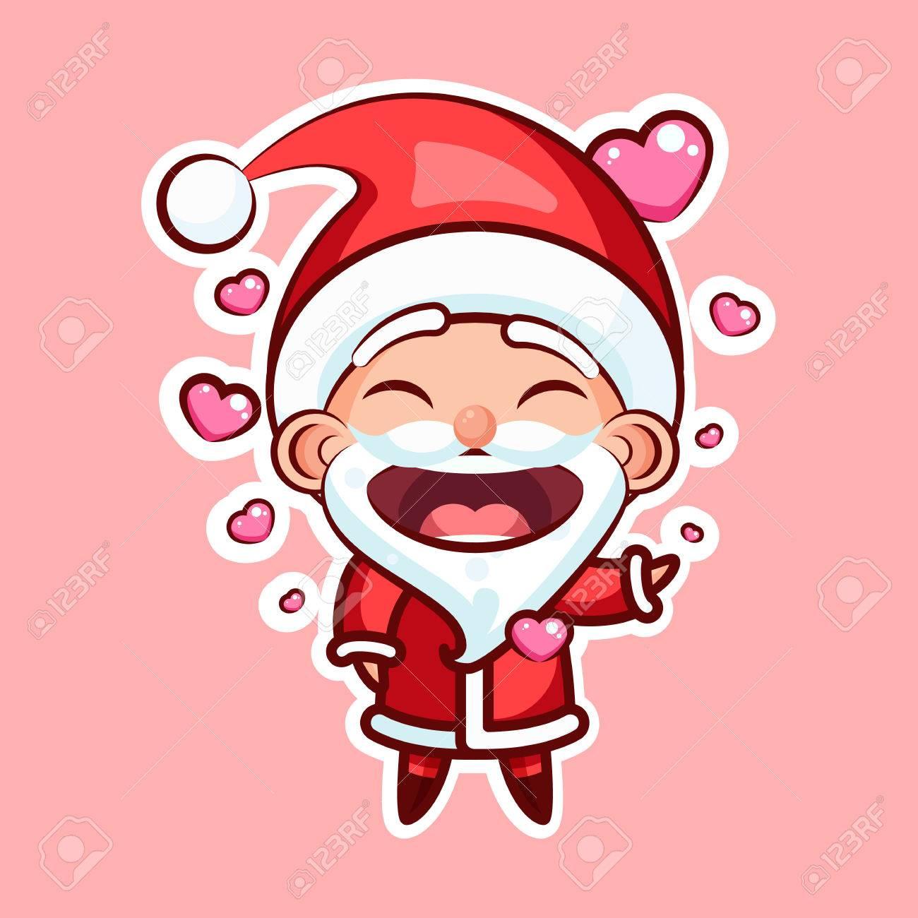 Sticker emoji santa claus royalty free cliparts vectors and sticker emoji santa claus stock vector 85581912 biocorpaavc Image collections