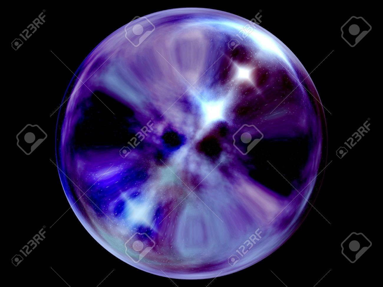 Crystal ball. Stock Photo - 3676746