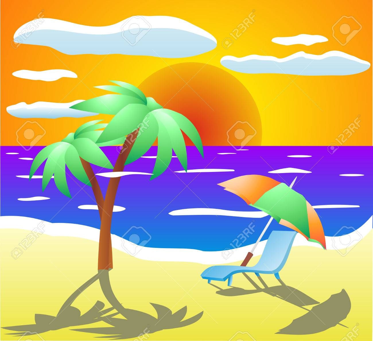 Beach Stock Vector - 6122631