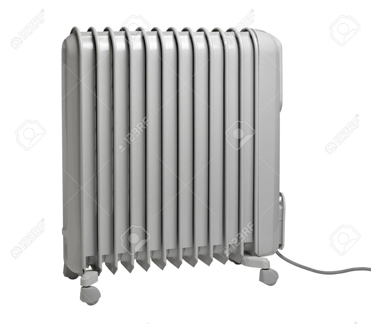 Oil radiator isolated on the white background (CLIPPING PATH) Stock Photo - 12413954