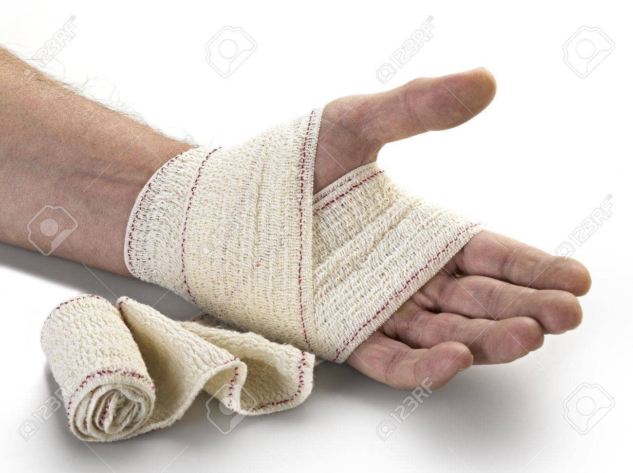 medicine bandage on human hand stock photo picture and royalty free