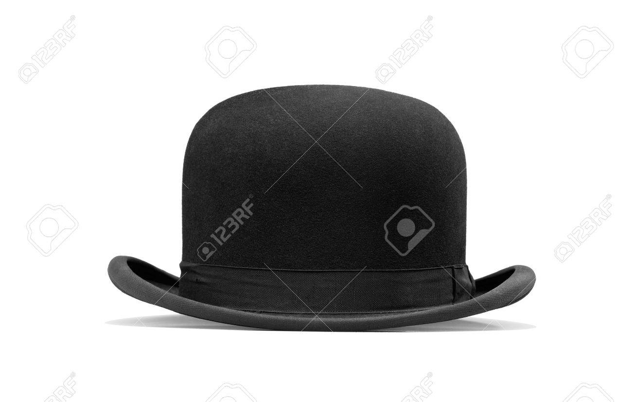 a bowler hat isolated on a white background Standard-Bild - 12414220