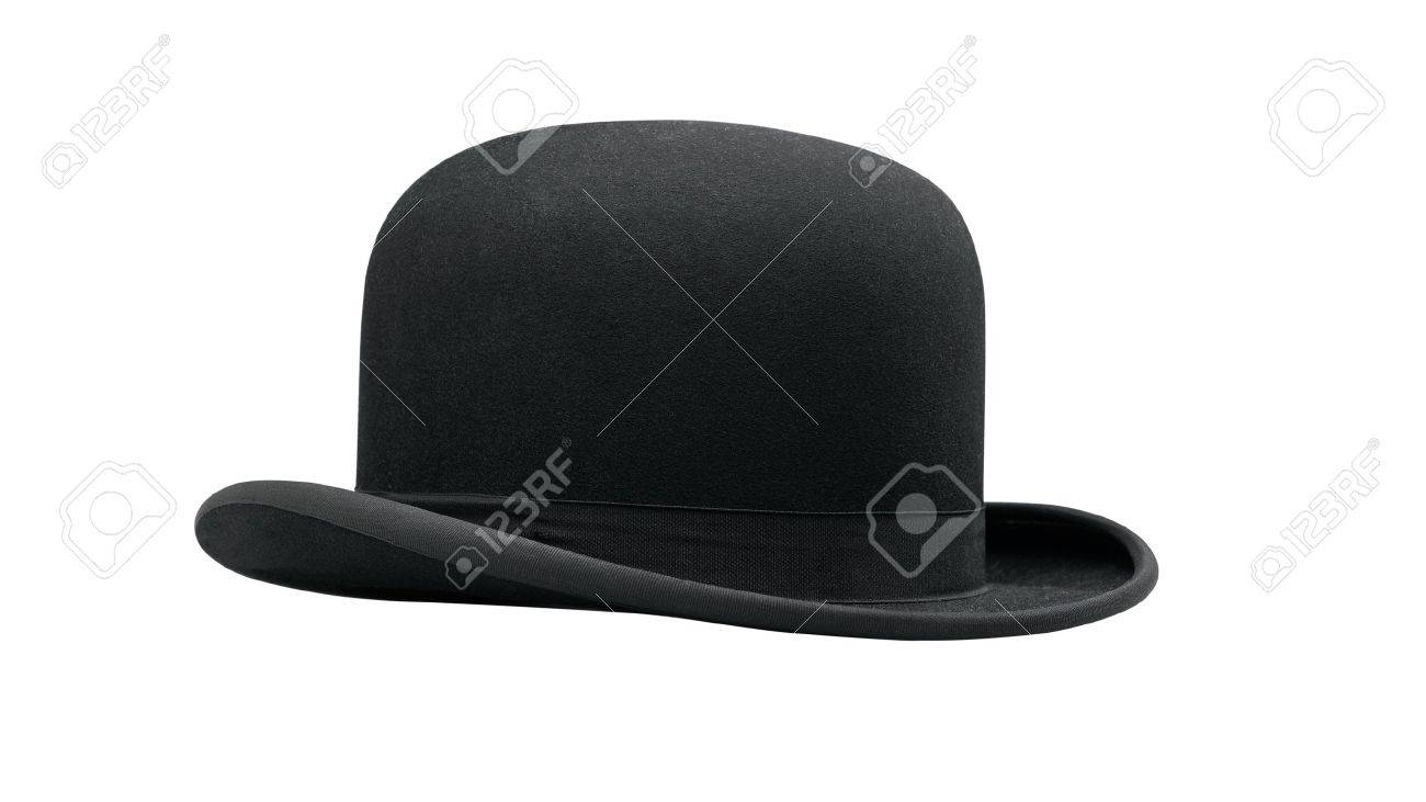 a bowler hat isolated on a white background Standard-Bild - 12414218