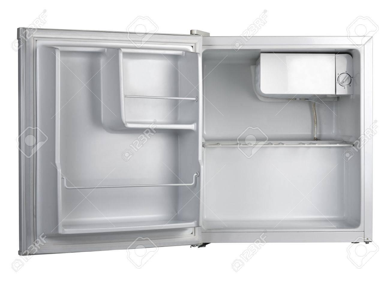 Kühlschrank Weiss : Kühlschrank mit offener tür isoliert auf weiß lizenzfreie fotos