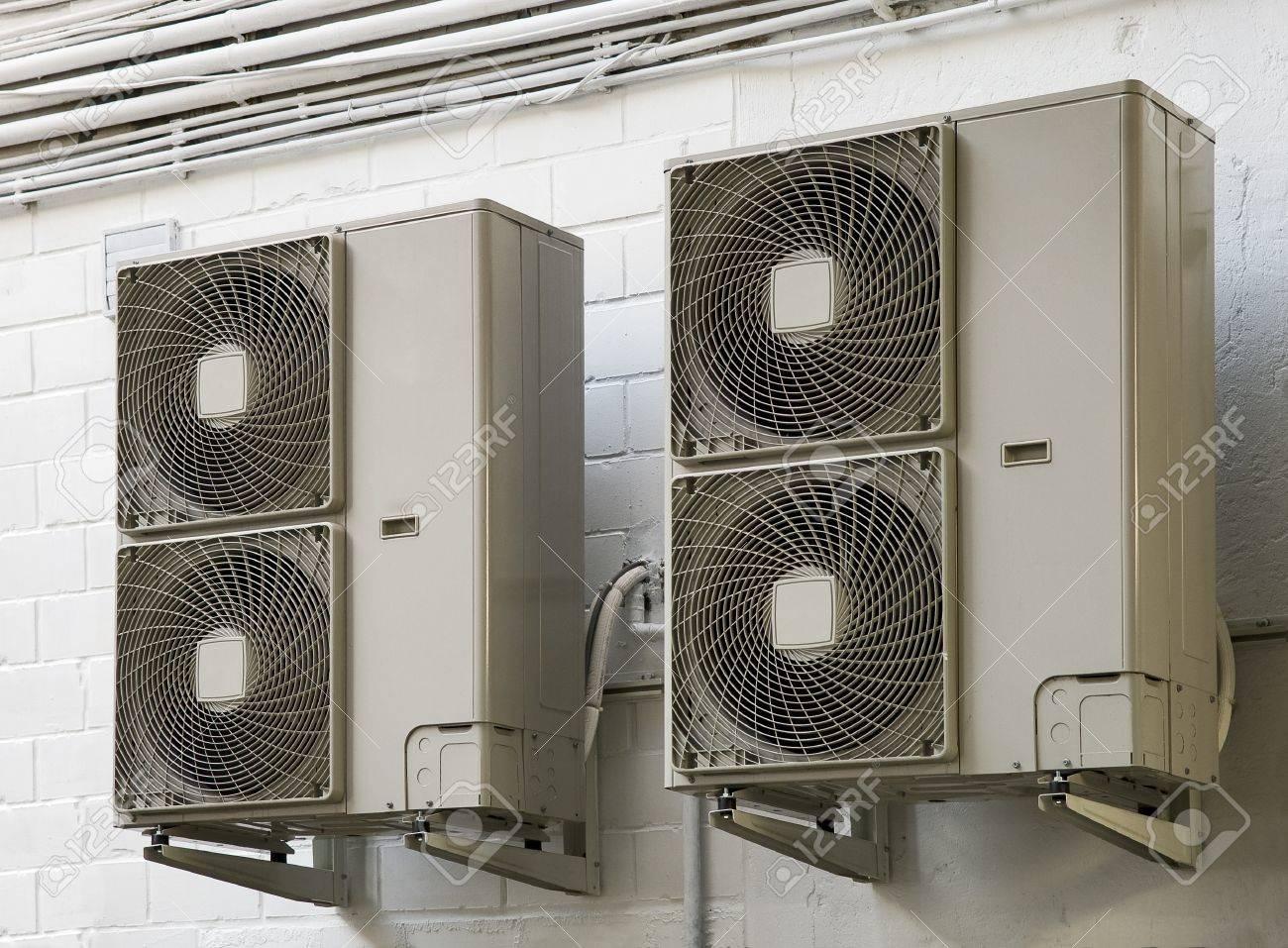 climatiseur air conditioner Standard-Bild - 17360418