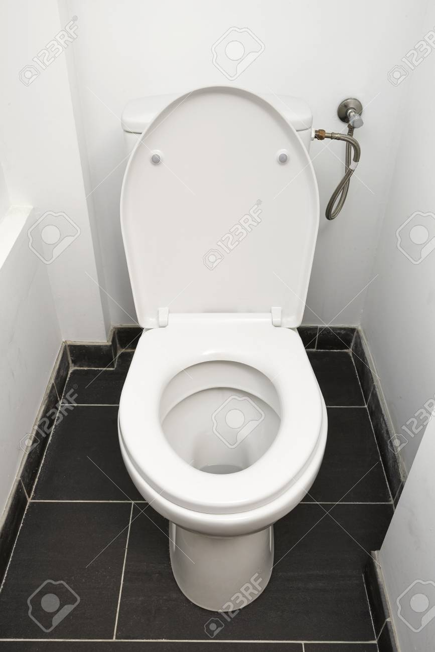 Home flush toilet Stock Photo - 25717339