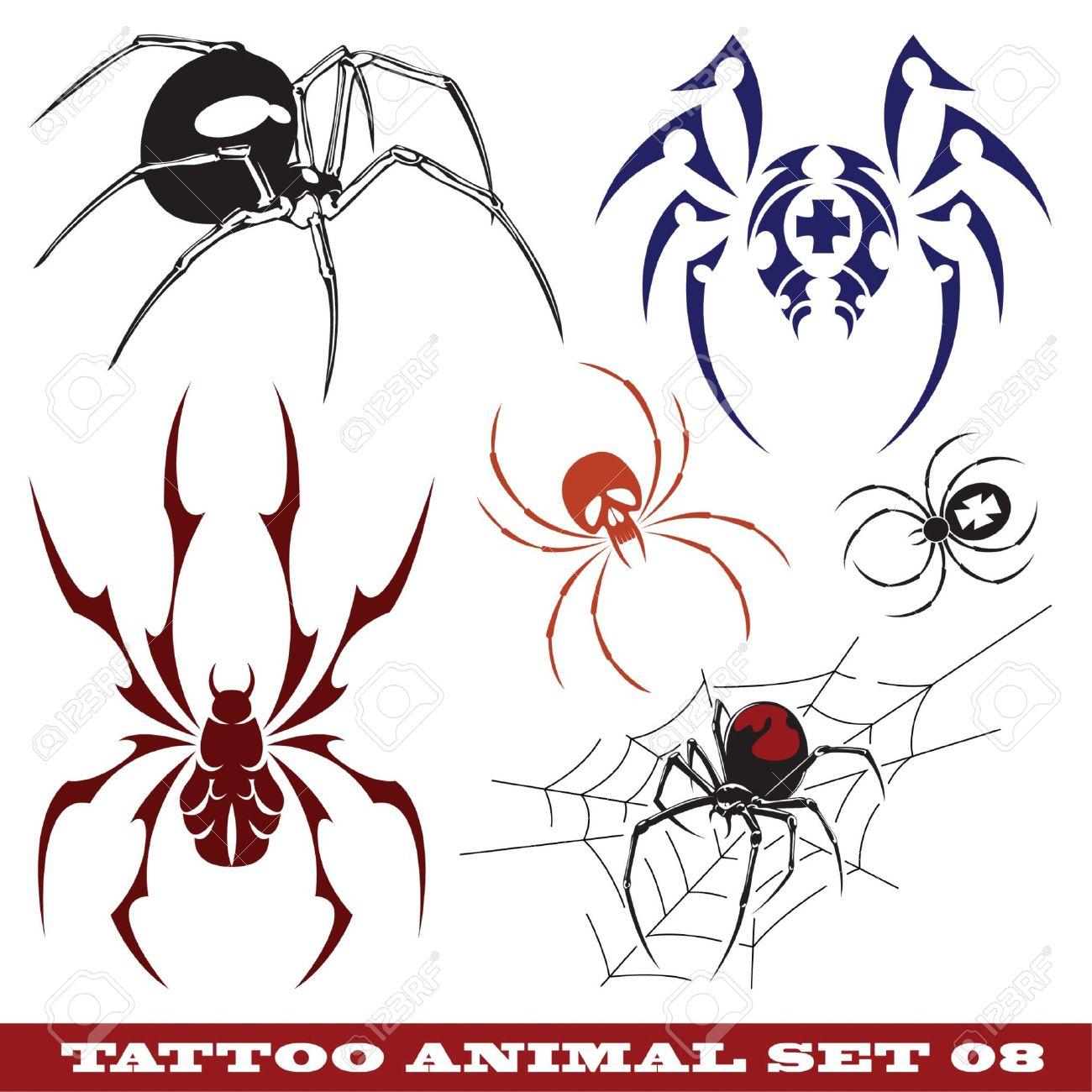 Spider Tattoo Idea 19 Tattoo Tatowierung 13