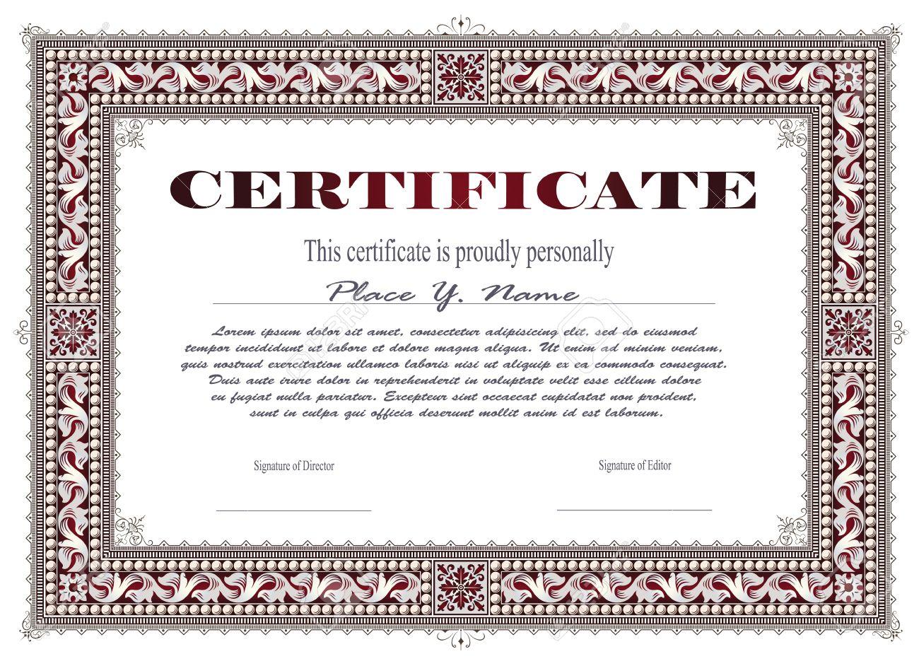 Vorlage Für Die Gestaltung Von Diplom Anzeigen Briefumschlag