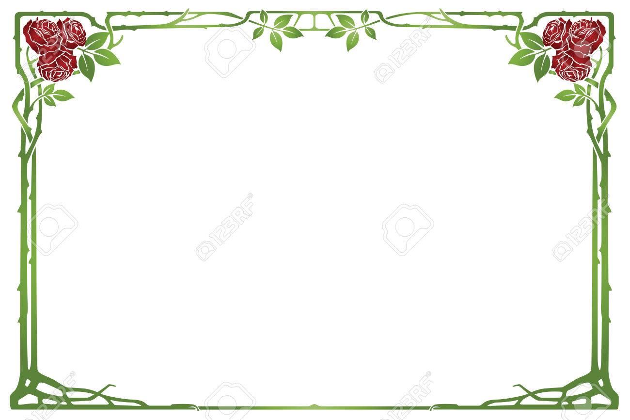 Resumen De Vectores Marco De Las Plantas Y Flores Con Destino Para ...