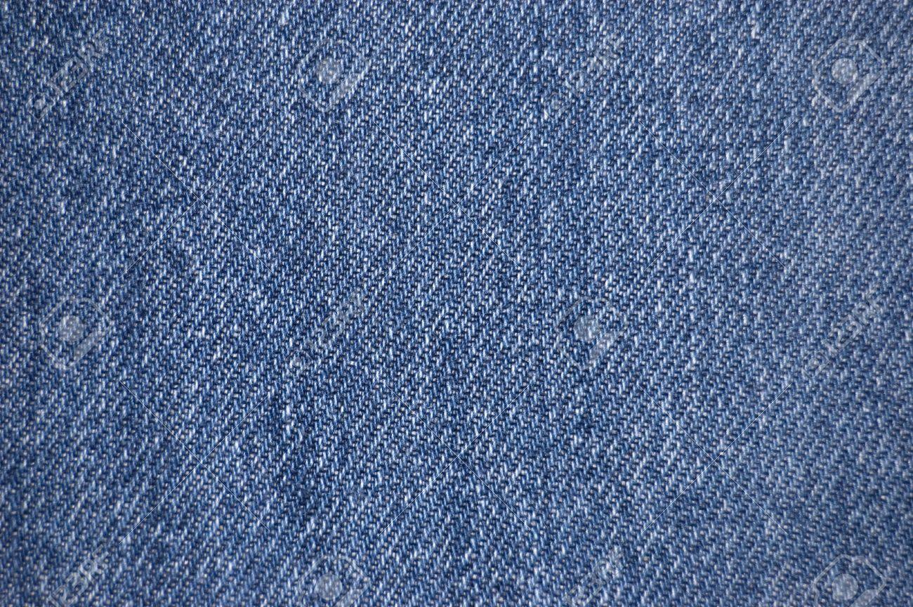 4f08386300b4c Distressed blue denim fabric texture Stock Photo - 2120829