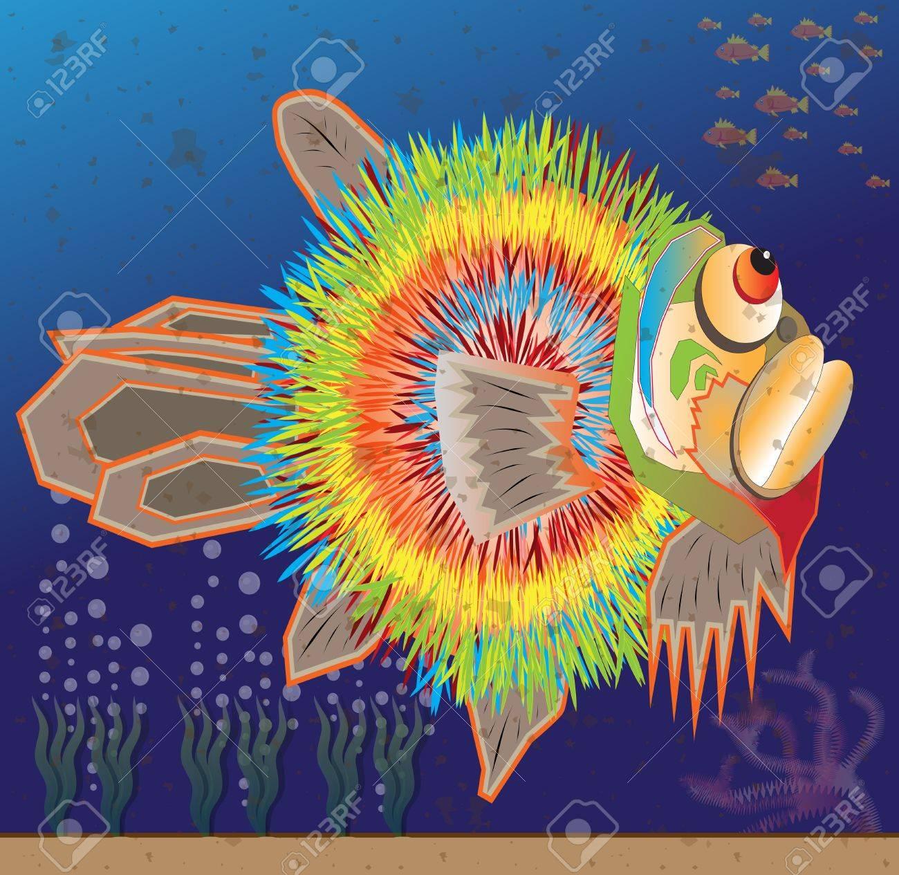 fugu fish Stock Vector - 17990549