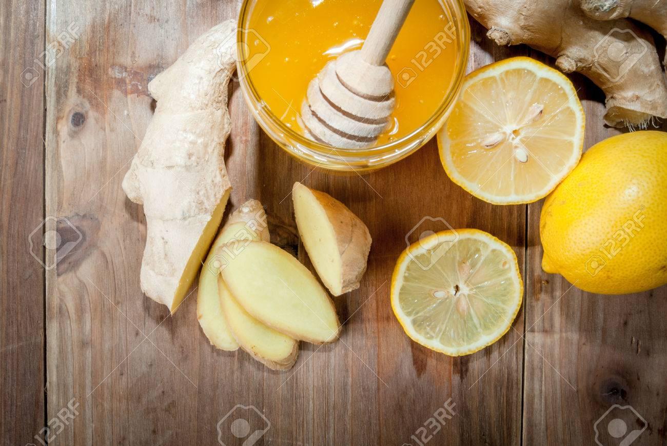 Como hacer te con jengibre y limon