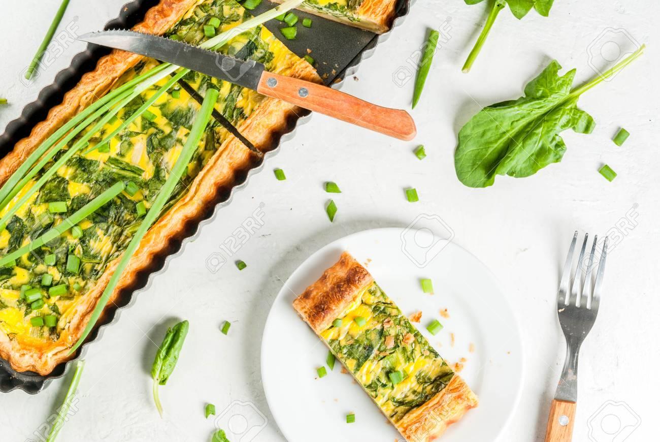 Cuisine Francaise A La Maison Casserole Tarte Quiche Lorraine A