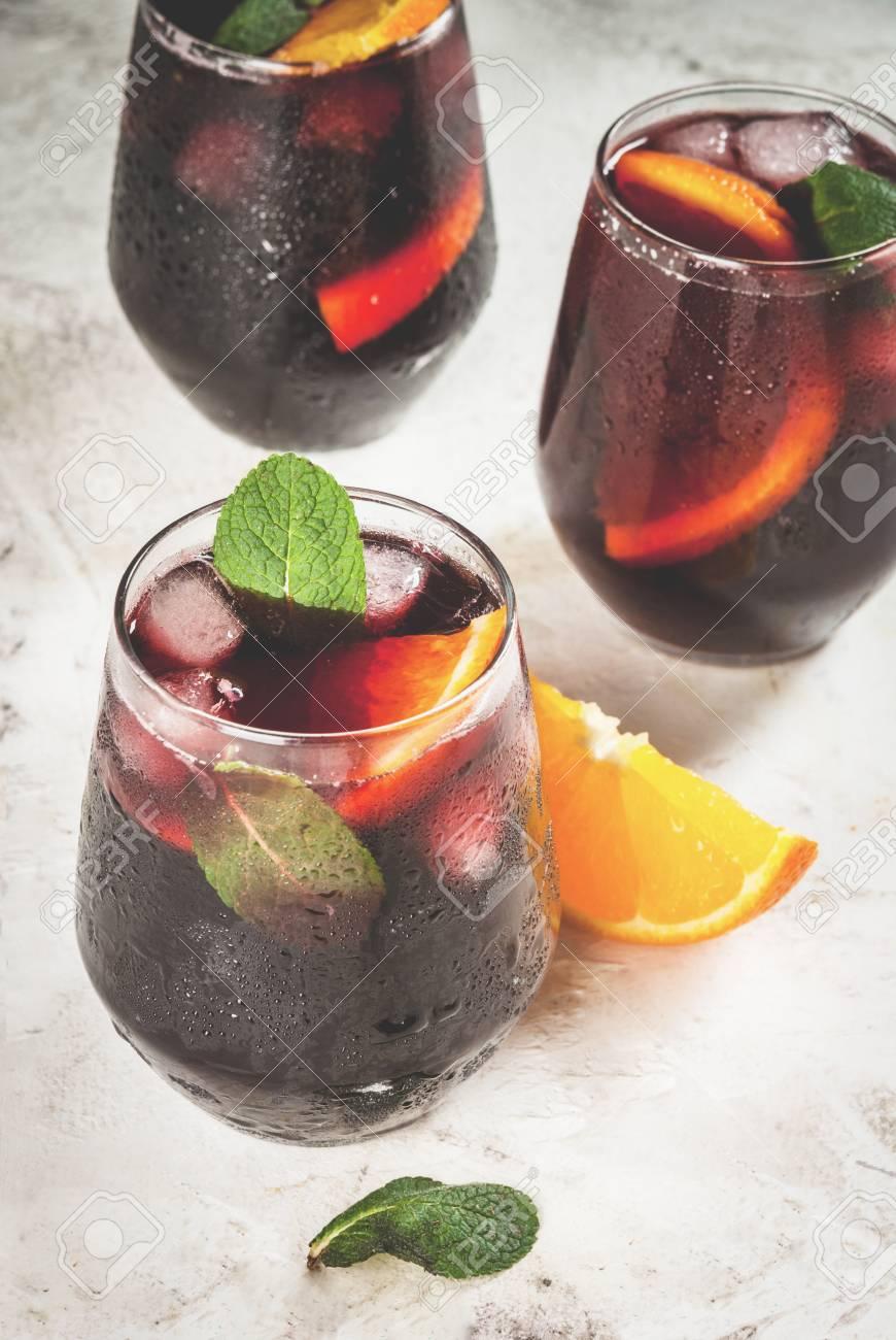 Erfrischendes Getränk Des Traditionellen Spanischen Sommers ...