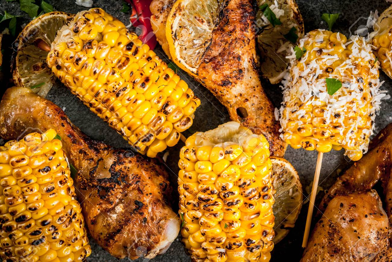 Image result for corn and lemon
