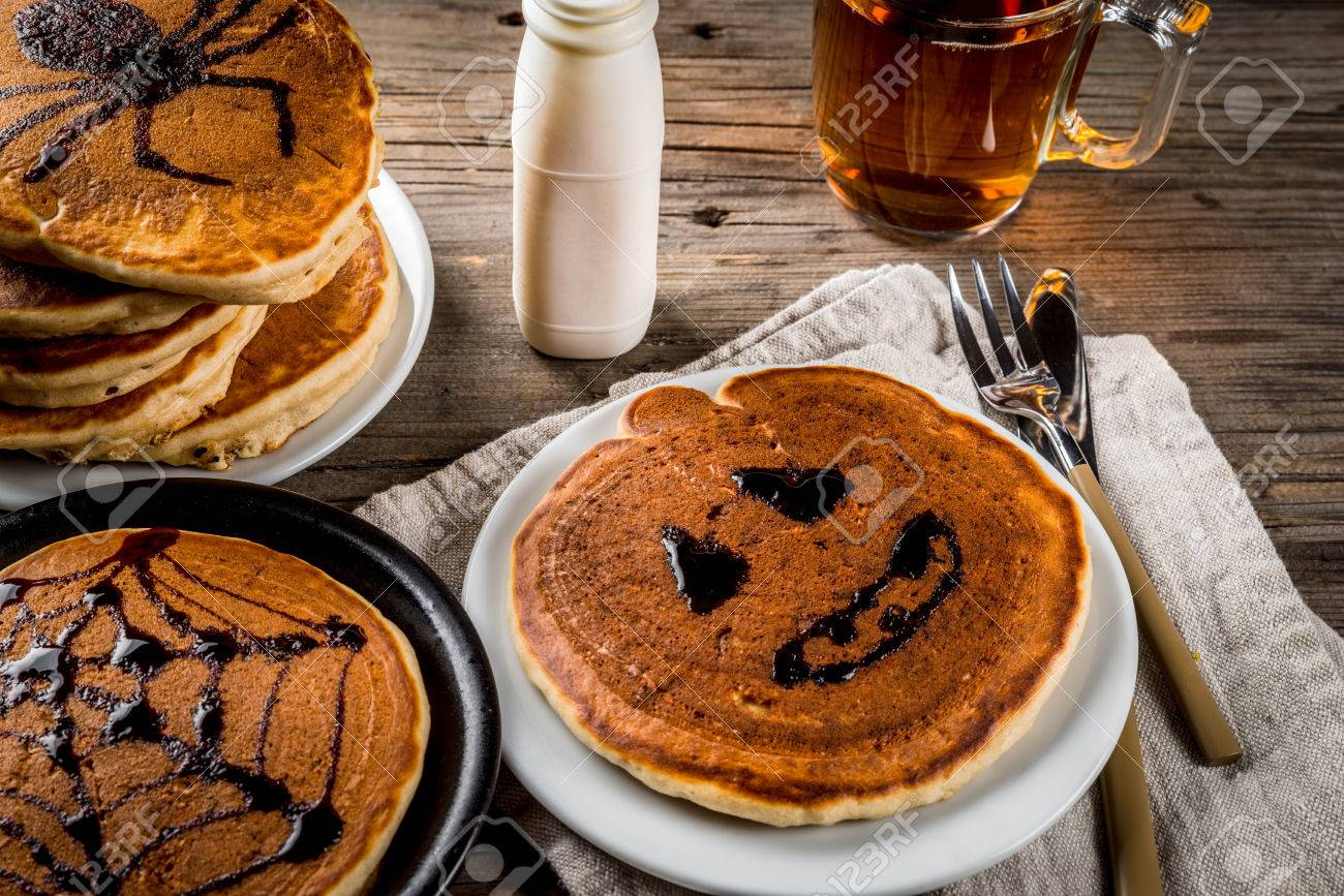 Ideen Für Das Frühstück Sind Halloween, Essen Für Kinder ...