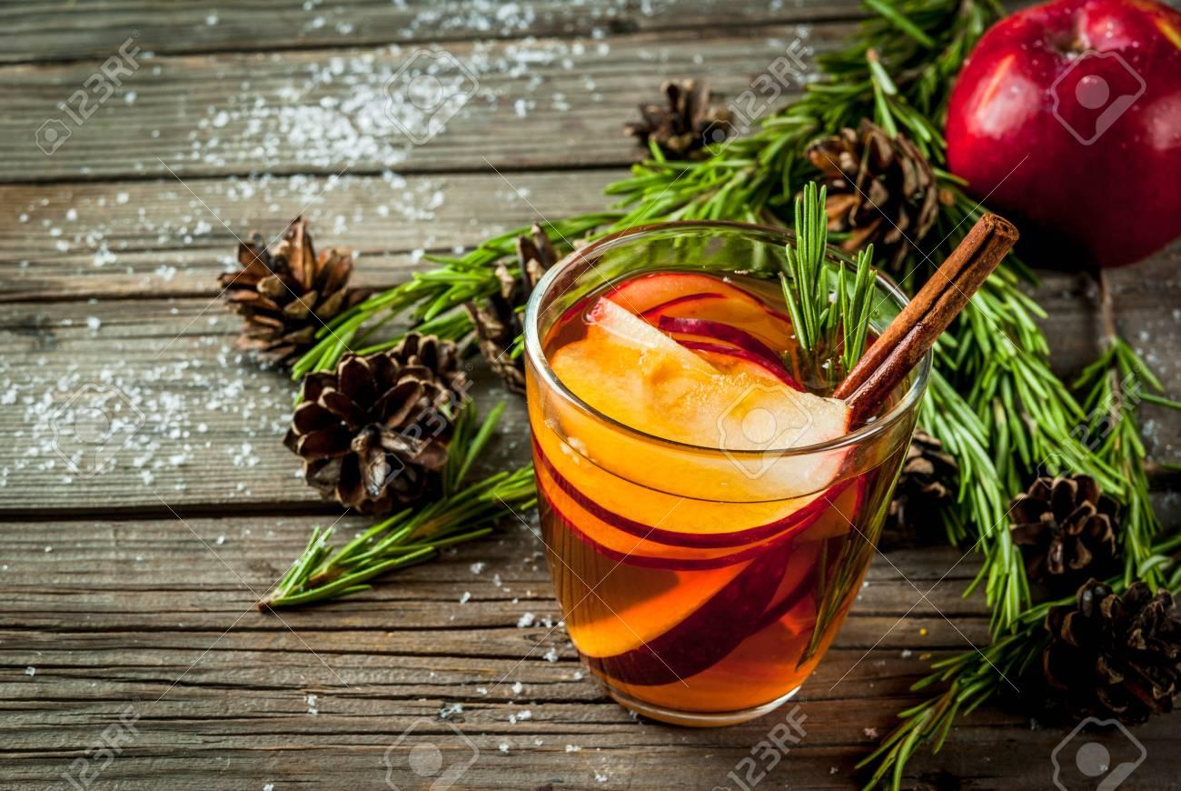 Weihnachten, Thanksgiving Getränke. Herbst, Wintercocktail Grog ...
