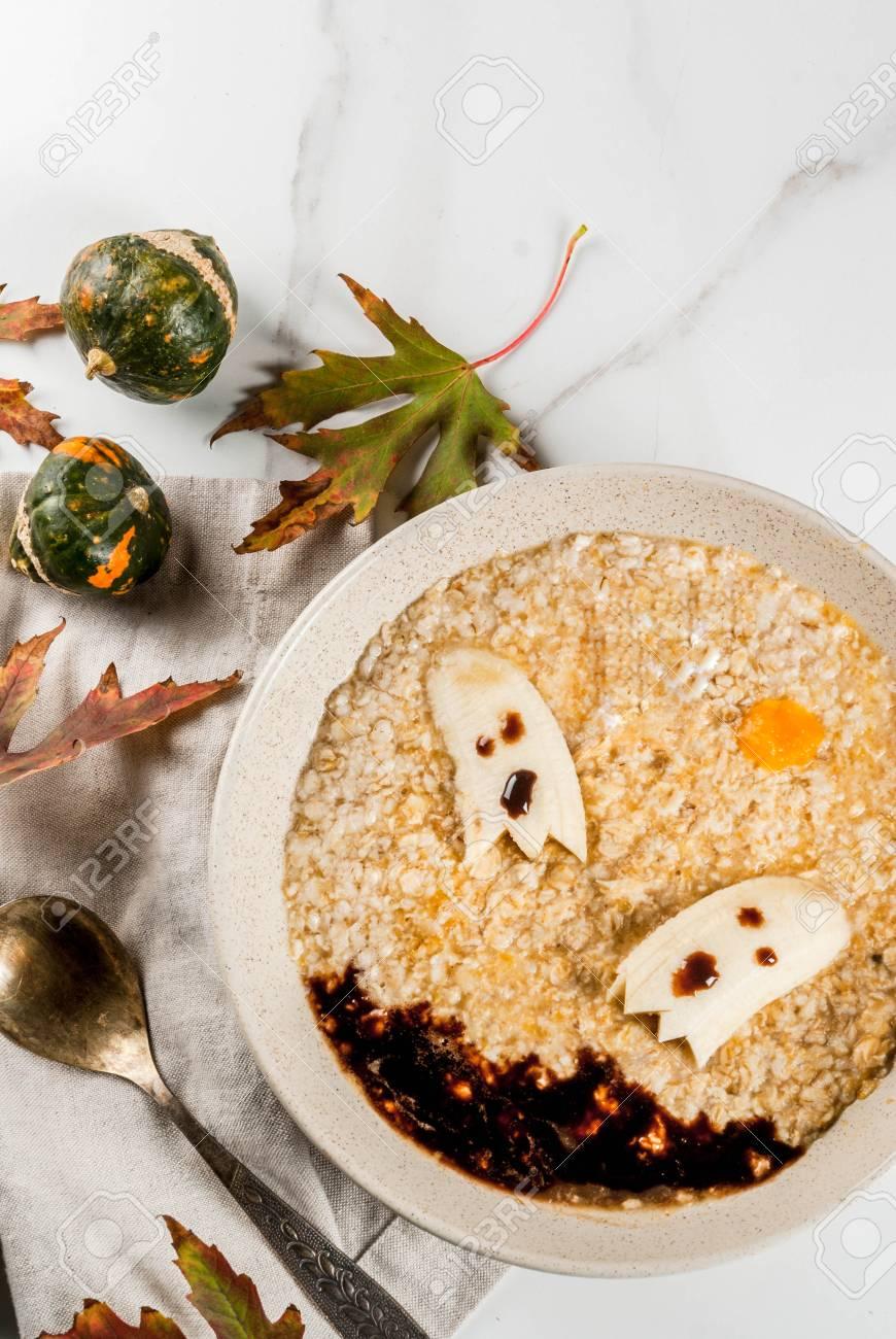 halloween food recipes for children, kids breakfast with sweet