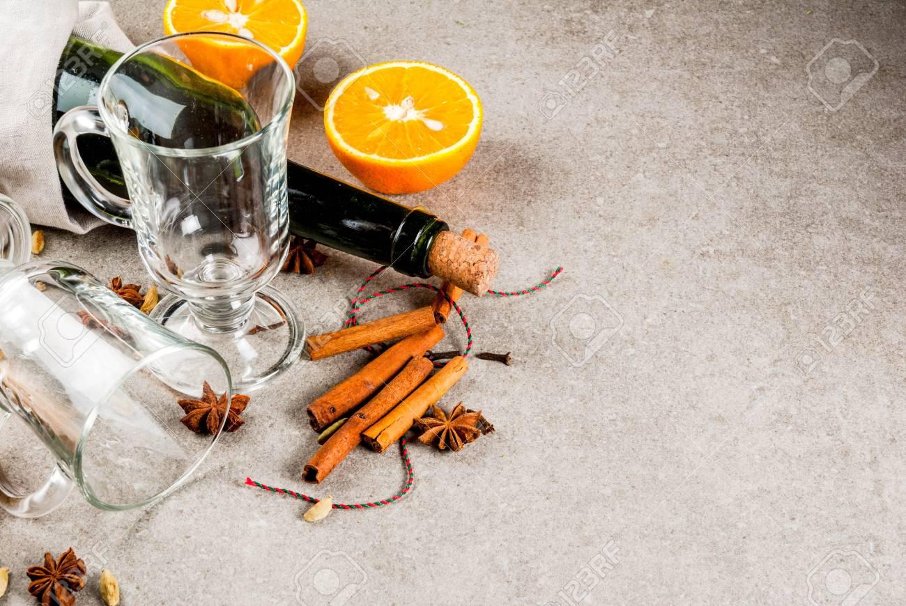 Weihnachten Heiße Getränke Rezepte, Set Zutaten Für Glühwein ...
