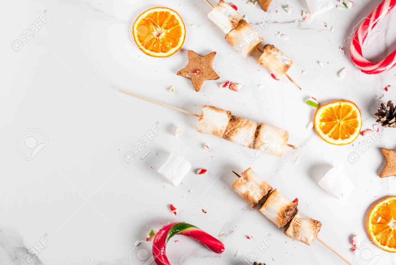 Dulces Tradicionales De Navidad - Bastón De Caramelo, Malvavisco ...