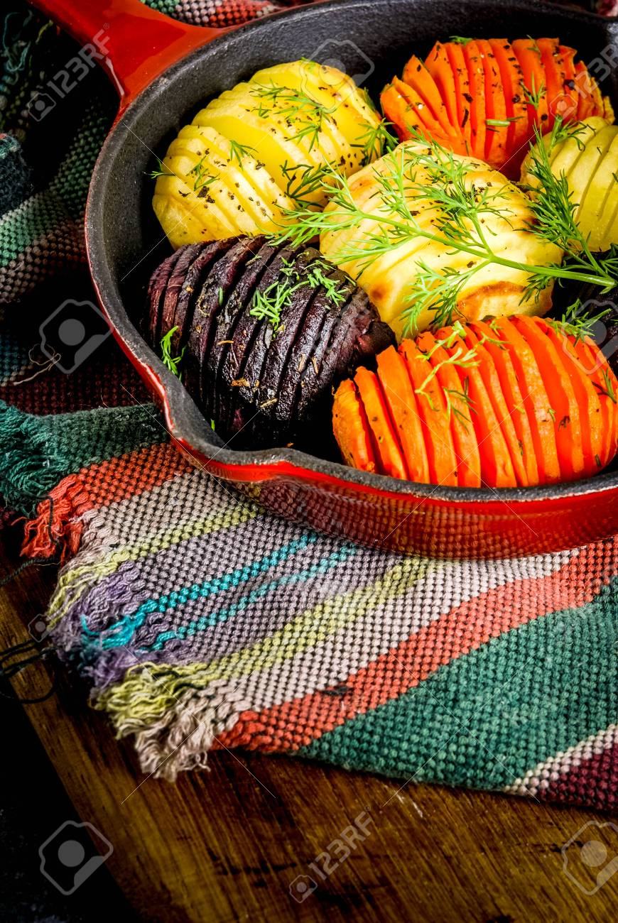 Ideas Of Vegan Food Autumn Recipes From Vegetables Roasted Stock
