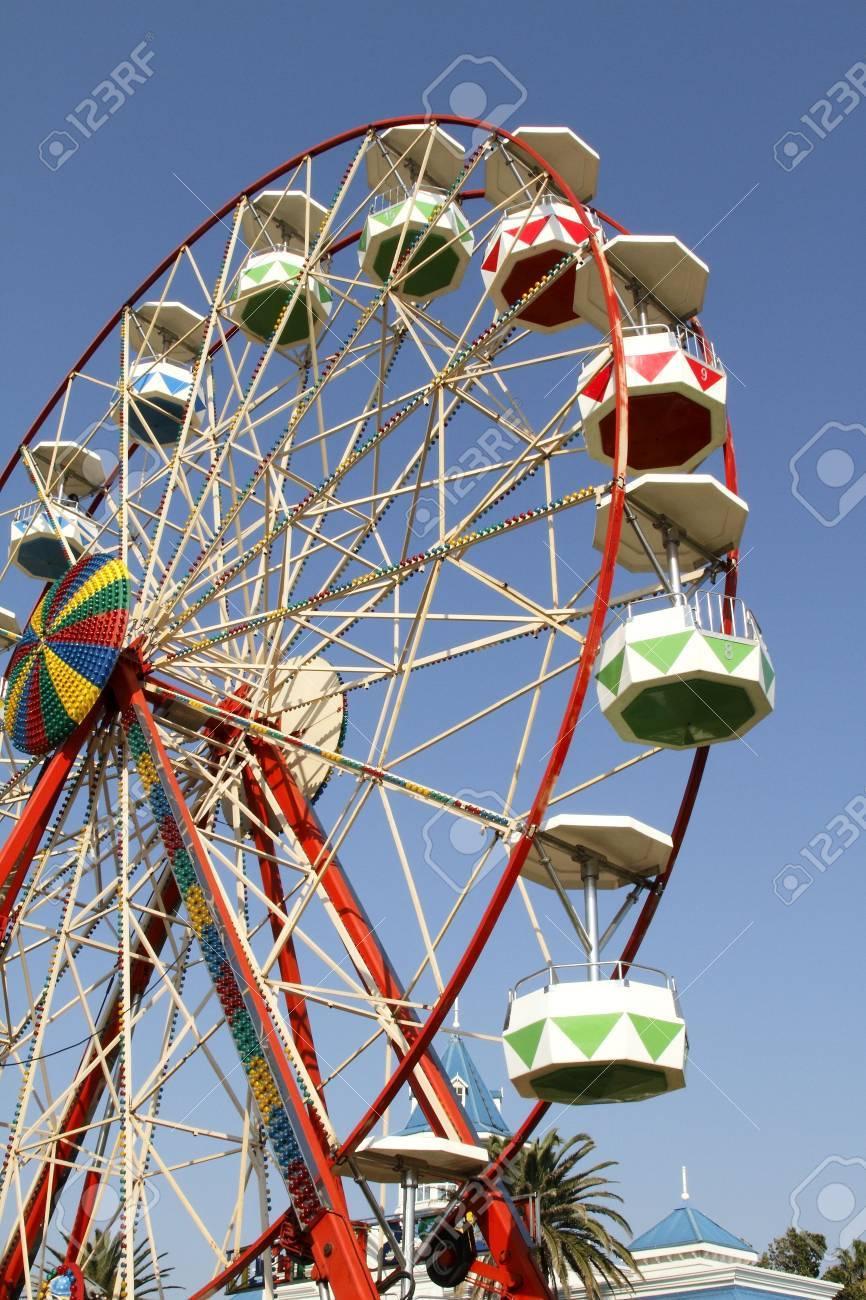 ferris-wheel at a local fair in port elizabeth Stock Photo - 7493861