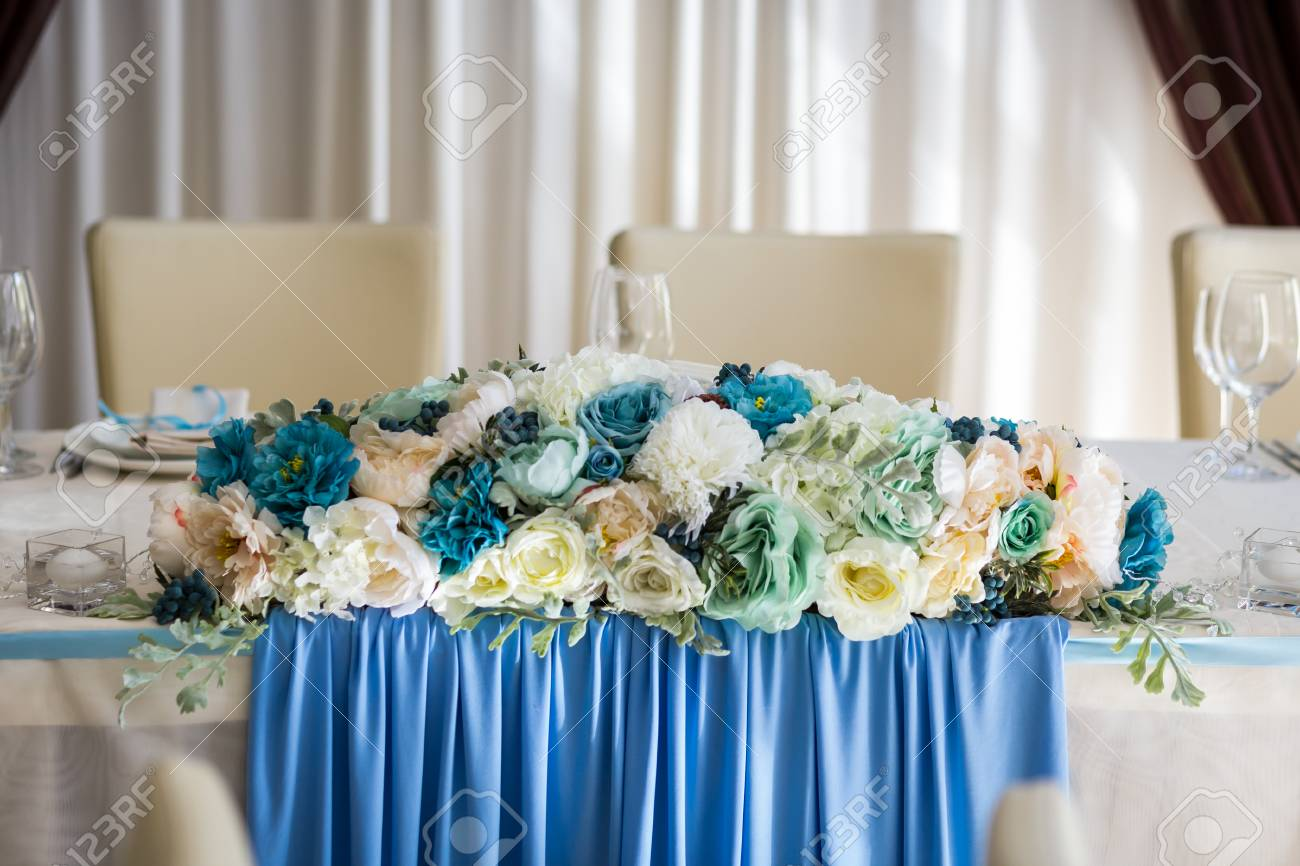 Wedding Table The Bride And Groom Table Wedding Table Decorations