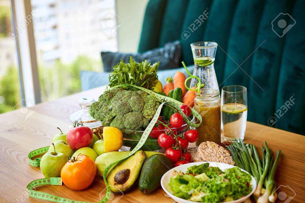Remarkable Diet Weight Loss Breakfast Concept With Tape Measure Organic Download Free Architecture Designs Scobabritishbridgeorg