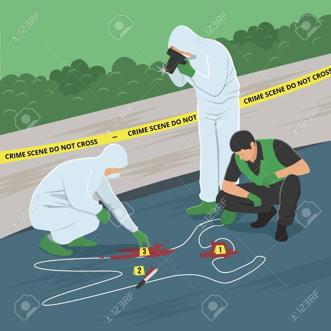 Crime Scene Investigation - 122847452