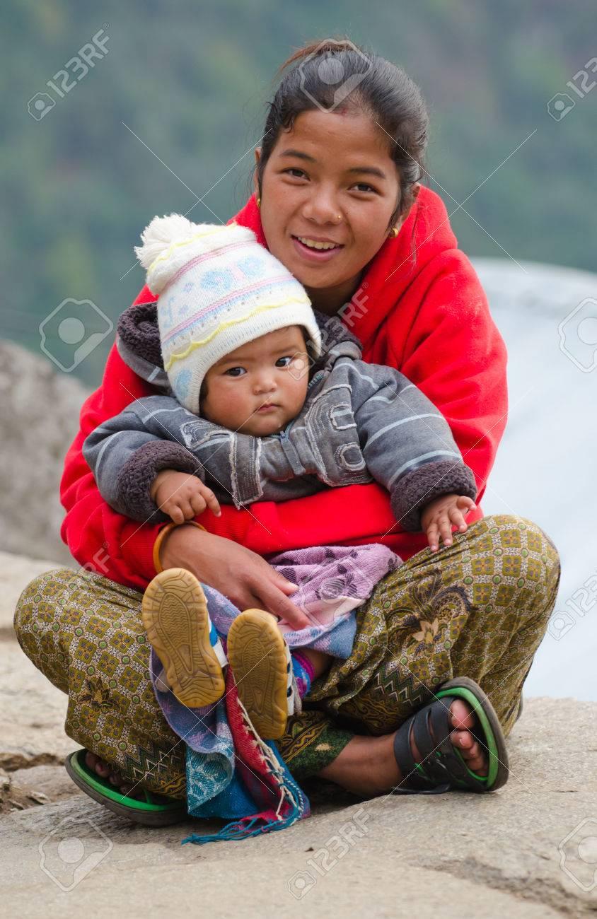 POKHARA, NEPAL- NOVEMBER 11