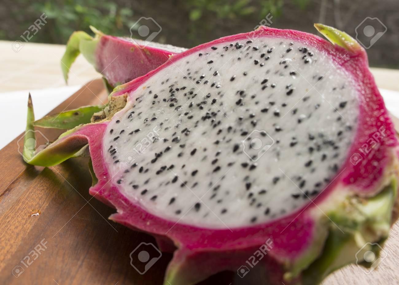 Fruta Del Dragon Pitahaya Pitaya Tropical Saludable Tailandes Fotos