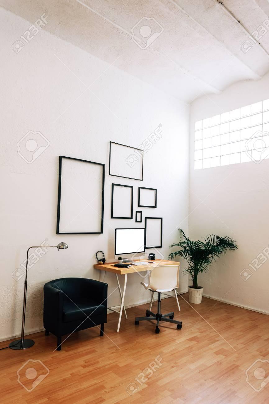 Espace de travail moderne et créative.