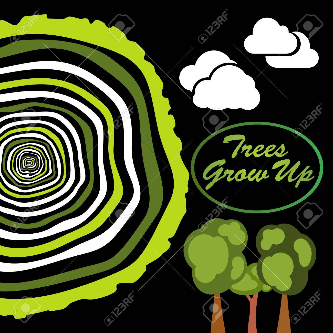 Trees Grow Up Tree Rings Saw Cut Tree Trunk Vector Royalty Free Cliparts Vectors And Stock Illustration Image 39052365 Tree of life free content , cartoon trees, brown and green tree illustration png clipart. 123rf com