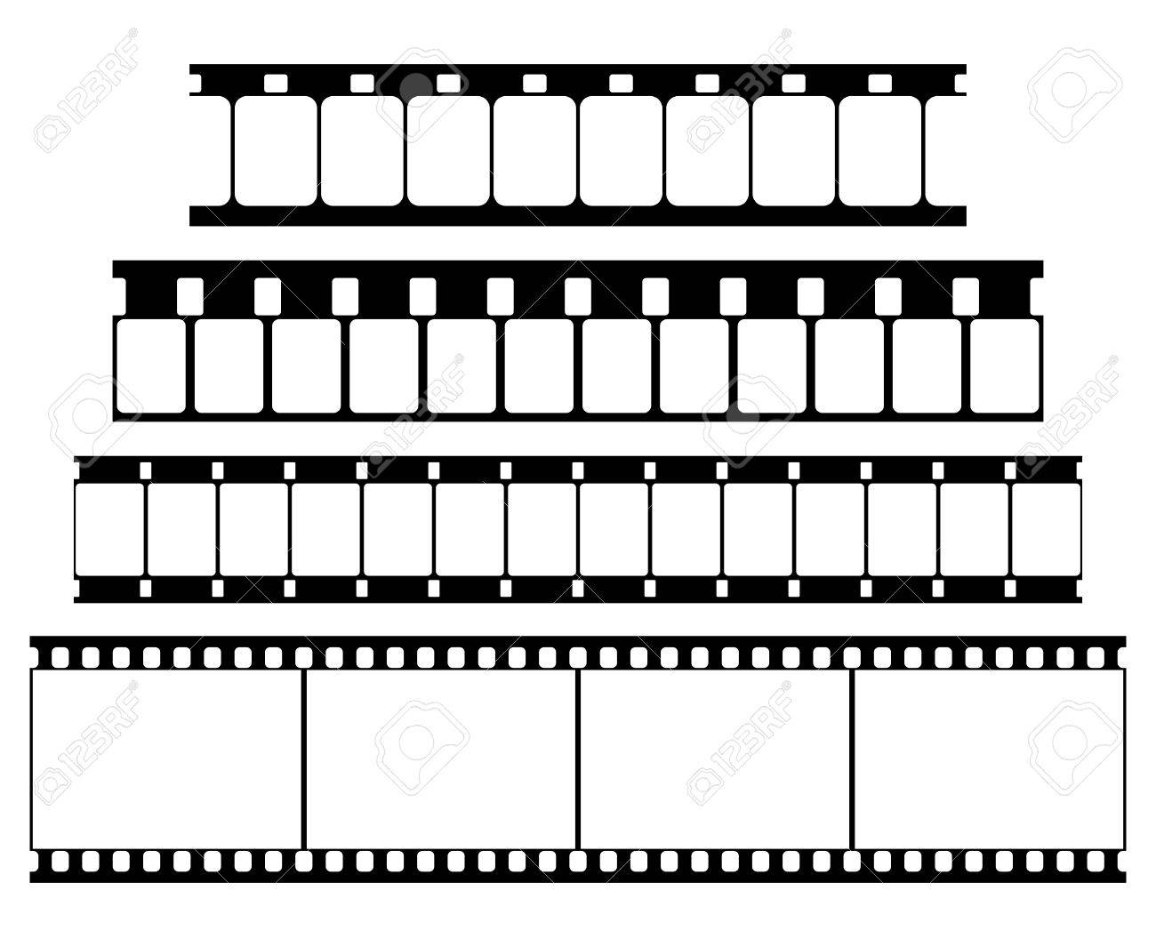 vector film strip set illustration on white background abstract rh 123rf com film victoria 2016 film victoria and abdul