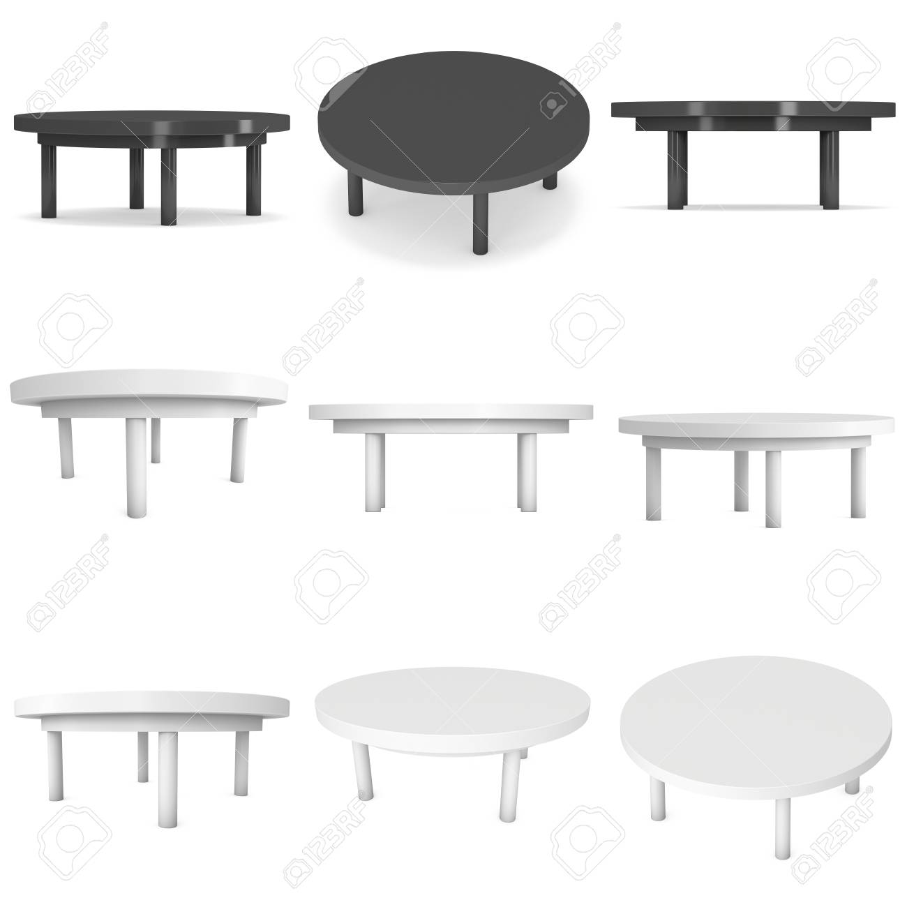 round table template