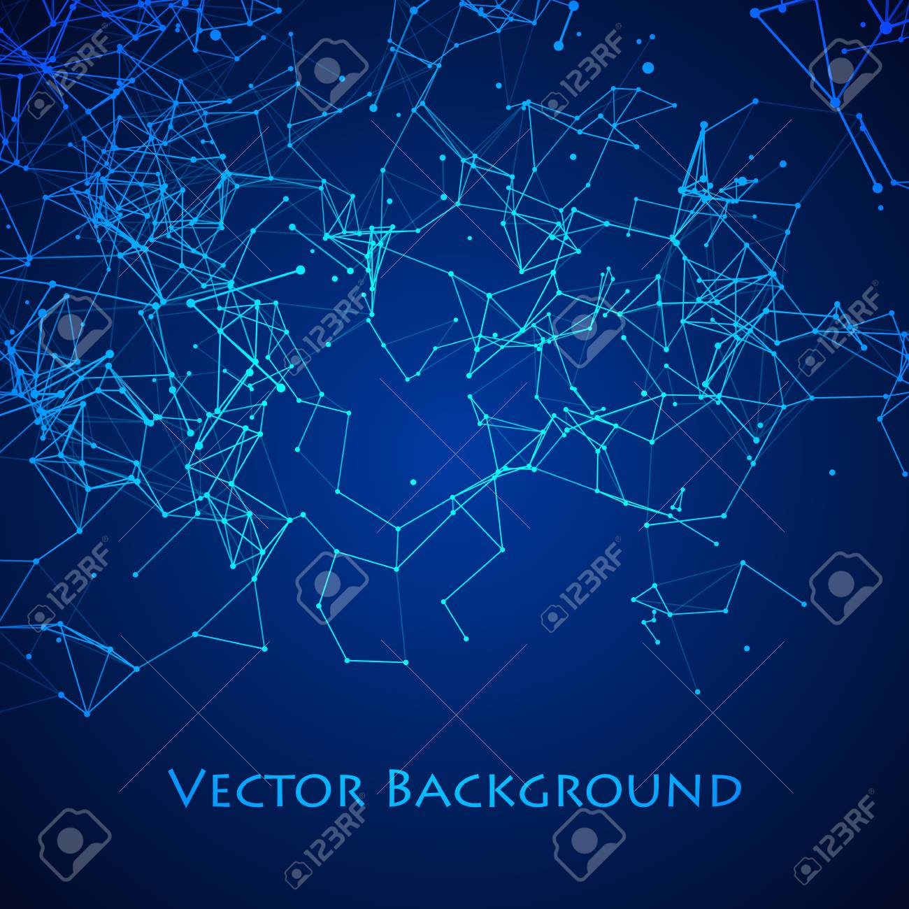 Abstract Network Plexus Background Stock Photo Picture And Royalty Free Image Image 91235379